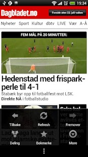 Dagbladet.no - screenshot thumbnail
