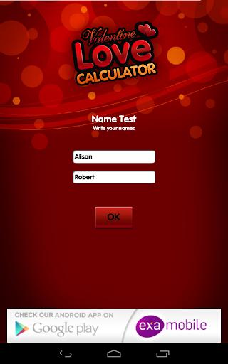 玩免費娛樂APP|下載爱情测试计算器 app不用錢|硬是要APP
