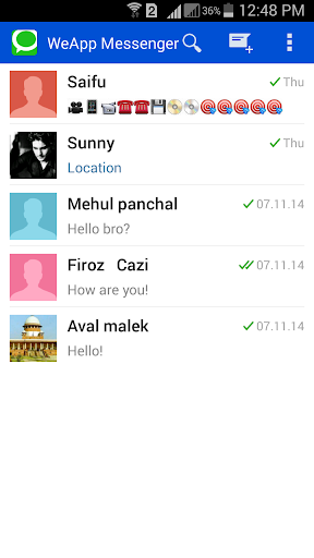 WeApp Messenger