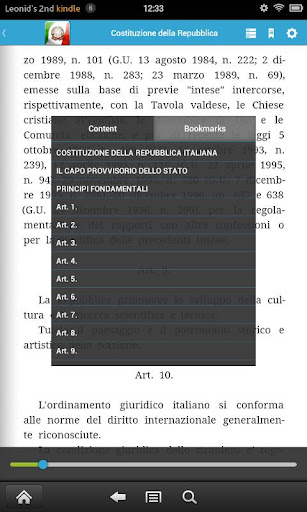 【免費書籍App】意大利立法-APP點子
