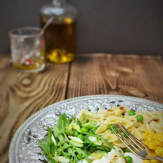 Rocket and Mozzarella Pasta Salad.
