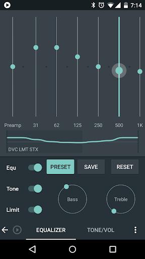 Skin for Poweramp Material  screenshots 2