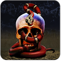 Skeleton Snake Live Wallpaper icon