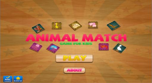 Animal Match Free