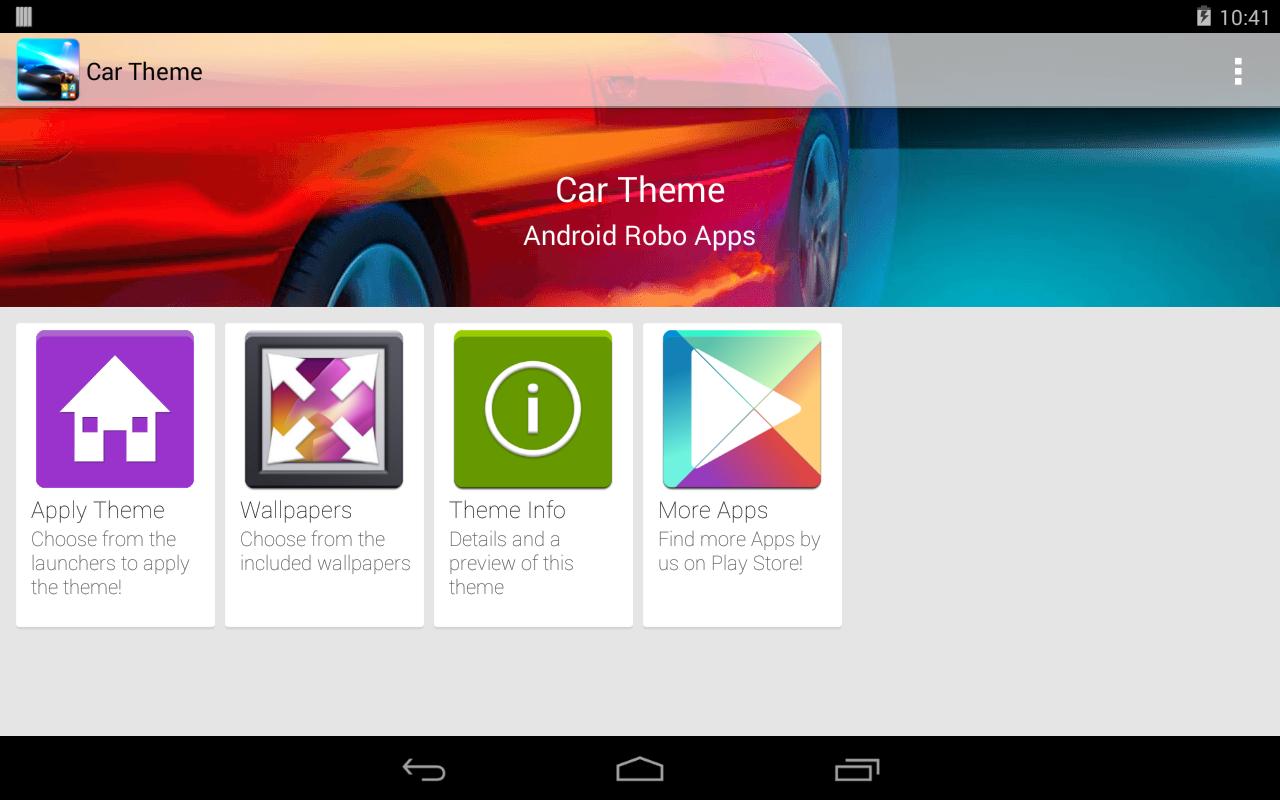 Gmail cars theme - Car Theme Screenshot