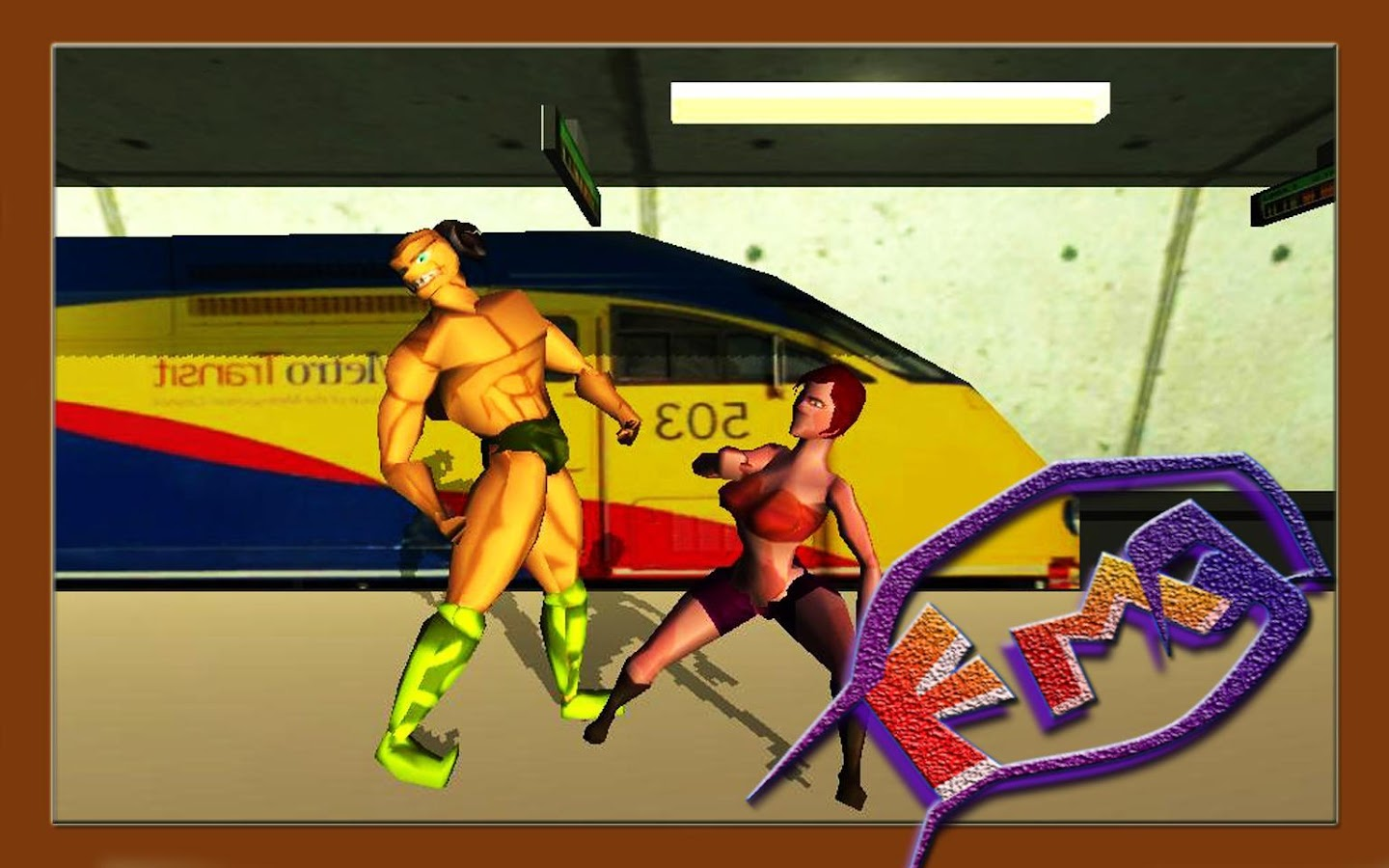 Fight Masters 3D fighting game - screenshot
