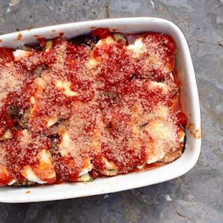 Grilled Summer Vegetables alla Parmigiana
