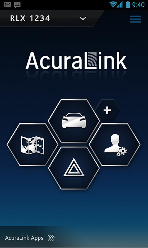 AcuraLink Connect - screenshot
