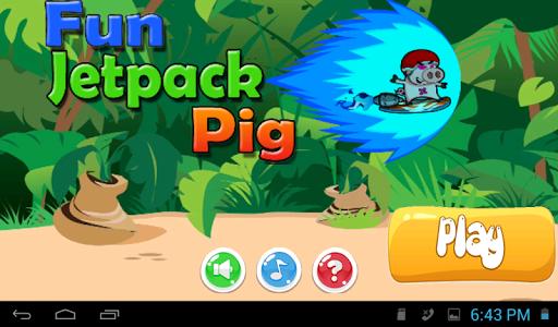 Fun Jetpack Pig