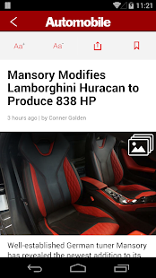 Automobile Magazine News- screenshot thumbnail