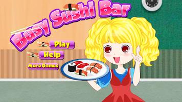 Screenshot of Busy Sushi Cooking