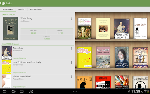 Aldiko Book Reader - screenshot thumbnail