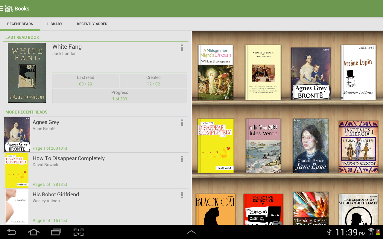 Aldiko Book Reader- screenshot