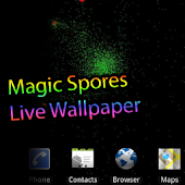 Magic Spores Live Wallpaper