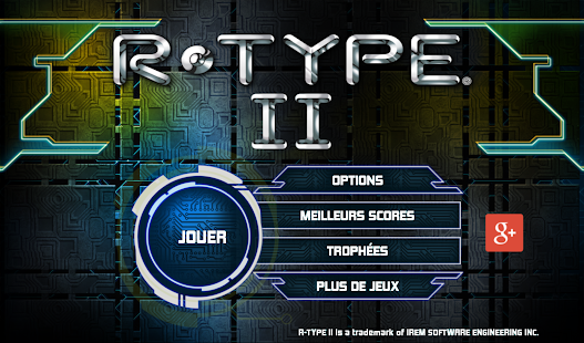 R-TYPE II Screenshot