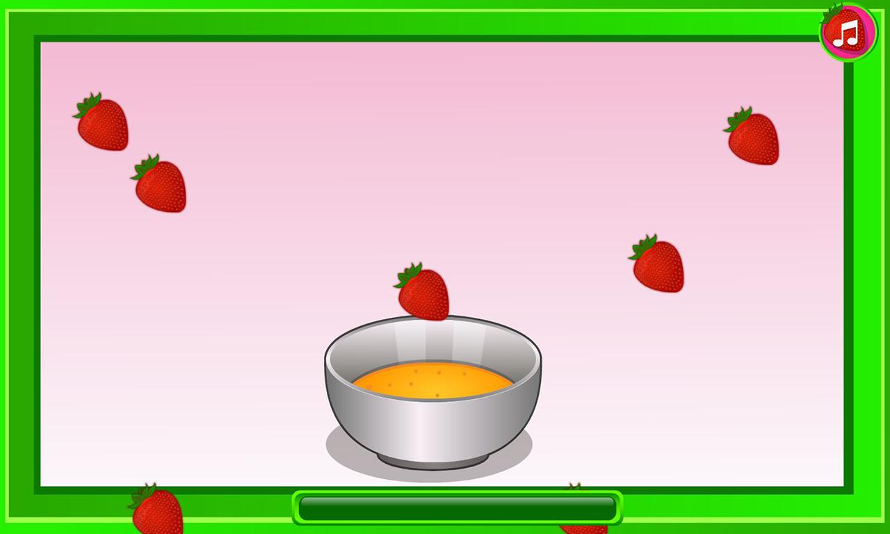 Strawberry Shortcake Games Cooking Cake