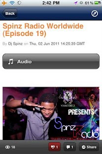 Spinz Radio Worldwide - screenshot thumbnail