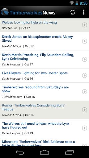 Minnesota Basketball News 4.1.0 screenshots 1