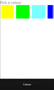 Learn the Colour Spectrum - screenshot thumbnail