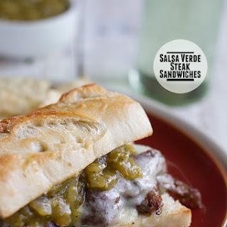 Salsa Verde Steak Sandwiches