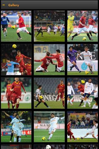 AS Roma Mobile - screenshot