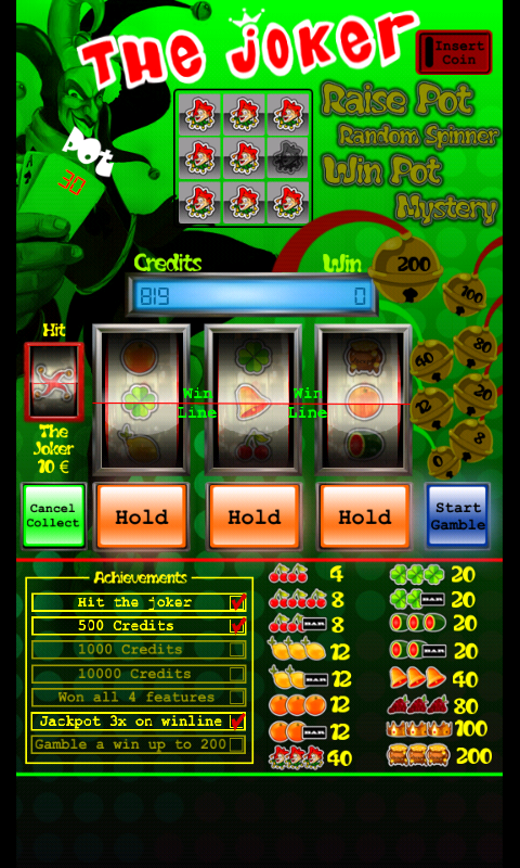 Slot machine The Joker - screenshot