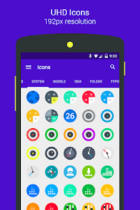 Goolors Circle - icon pack screenshot 2