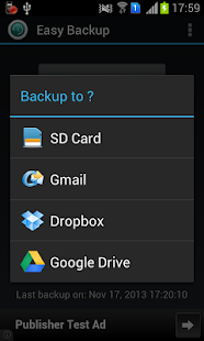 Easy Backup - screenshot thumbnail