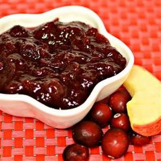 Cranberry Apple Sauce I
