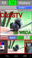 Screenshot of DroidSSTV - SSTV for Ham Radio