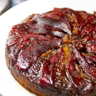 Sweet Pepper Upside-Down Cake