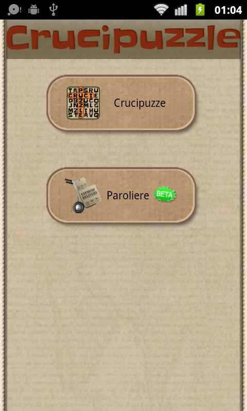 Crucipuzzle - screenshot