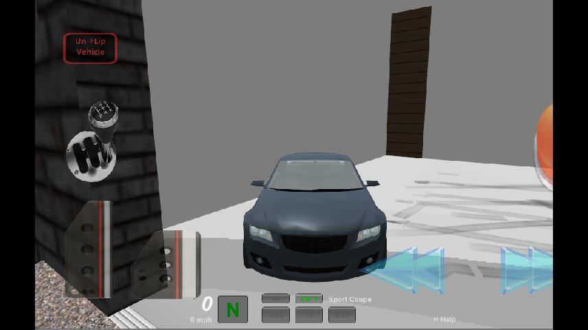 Stunt Car Driving 3D - screenshot