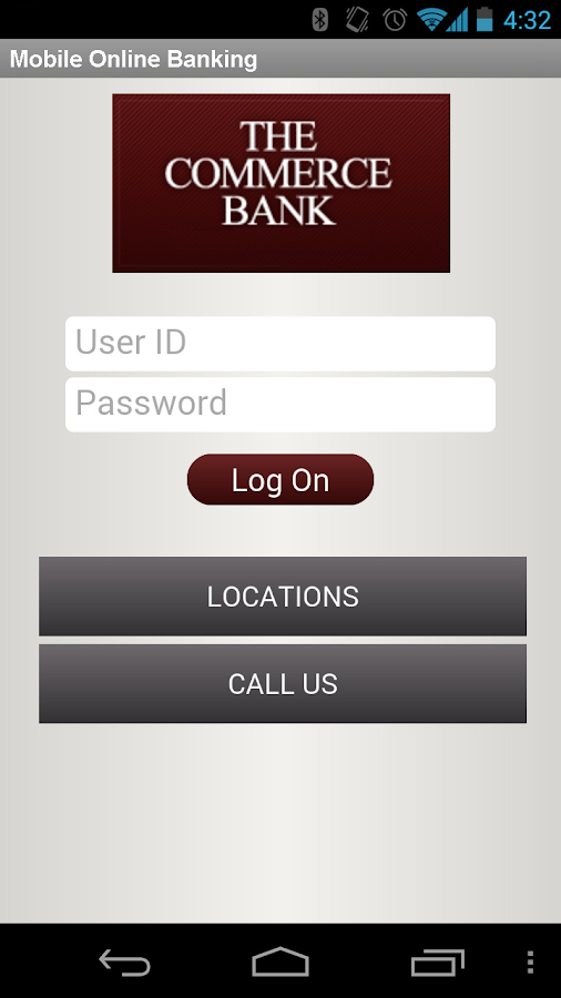 TCBOR Mobile Banking - screenshot