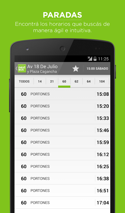 Nextbus Montevideo- screenshot