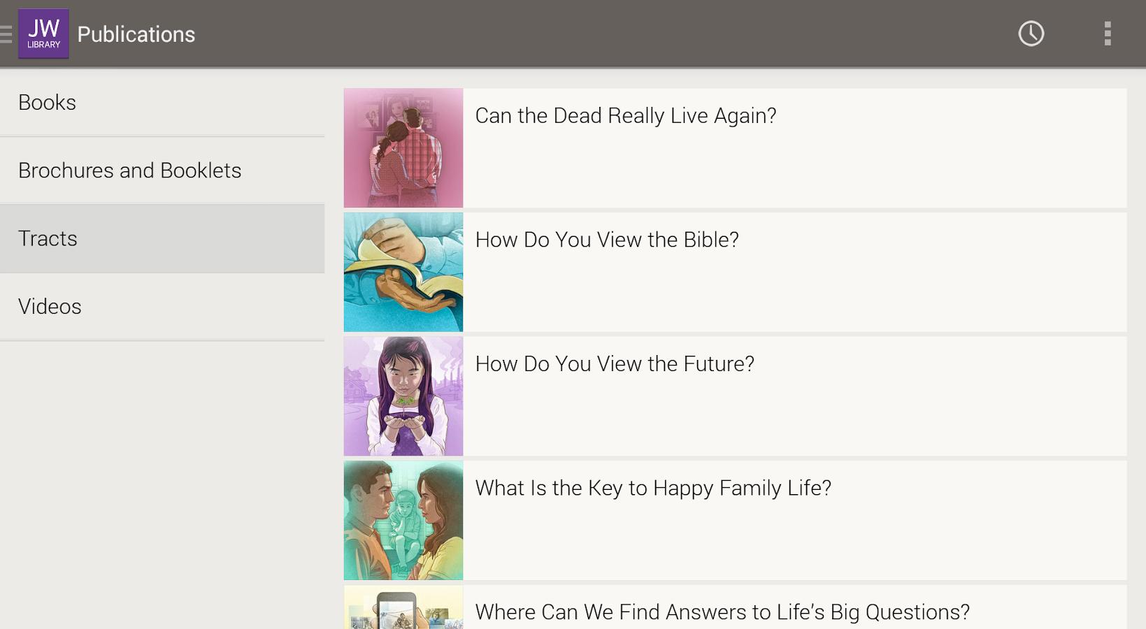JW Library - screenshot