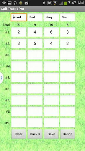 Golf Tracks Pro