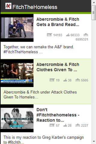 FitchTheHomeless Videos