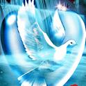 Beautiful Dove in a Romantic I logo