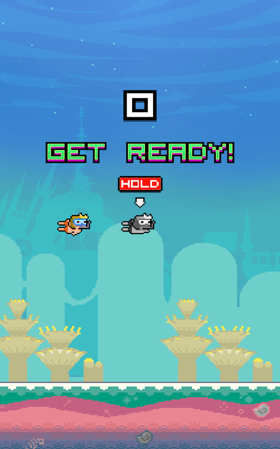 Clumsy Scuba Diver - screenshot