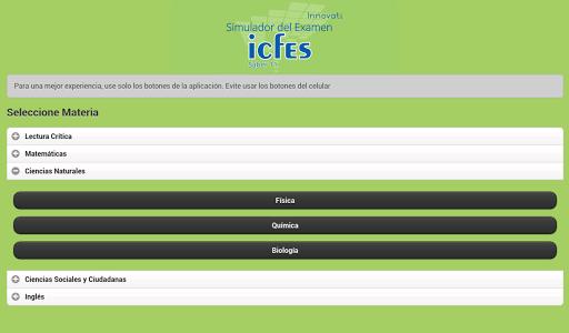 Simulador Examen ICFES  screenshots 11