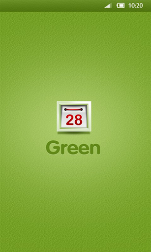 360手機桌面-green