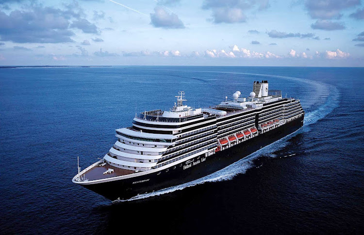 Book a cruise on Holland America's Westerdam to transit the Panama Canal, cruise the Caribbean or explore Alaska.
