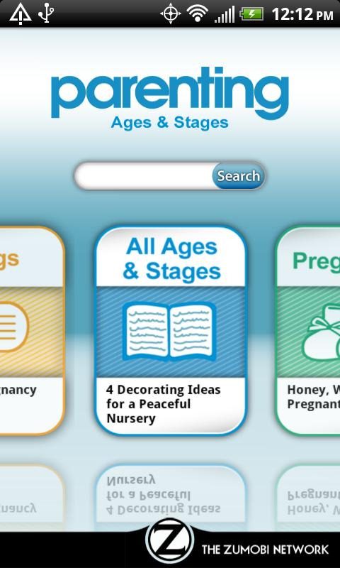 Parenting Ages & Stages - screenshot