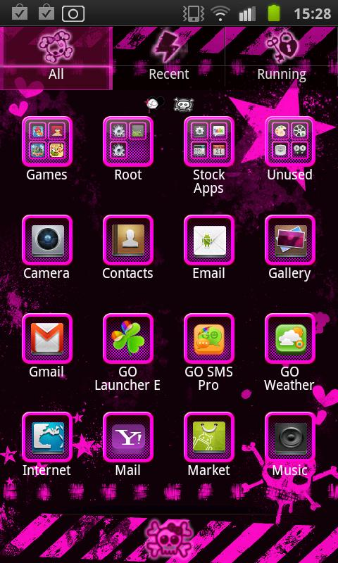 Emo Punk Go Launcher Ex - Android Apps on Google Play