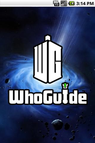 Doctor Who WhoGuide- screenshot