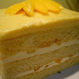 Opera Mango Cake.