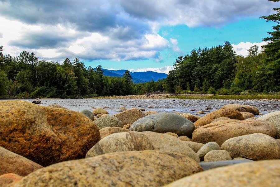 Mountain Stream by Steven Kennedy - Landscapes Mountains & Hills ( river scene, mountain, mount washington, landscape, river )