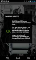 Screenshot of Caceroladator