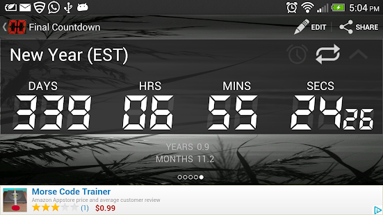 Final Countdown - Timer - screenshot thumbnail